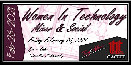 Women in Technology, Engineering & Arch. - Mixer and Social tickets