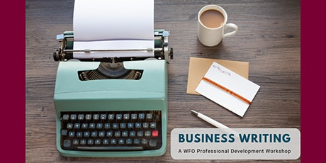 Business Writing Workshop tickets