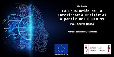 La Revolución de la Inteligencia Artificial a partir del COVID-19 entradas