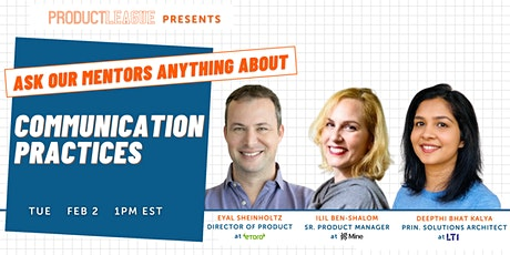 #AskMeAnything: Communication Practices for Product Managers tickets