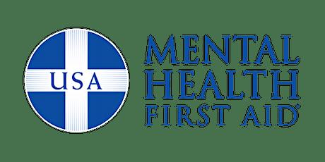 Adult Mental Health First Aid (Virtual) tickets