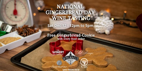 National Gingerbread Day Wine Tasting! tickets