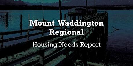 Mount Waddington Regional Housing Forum tickets