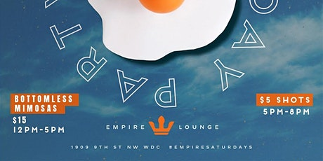 Empire Saturdays Brunch & Day Party tickets