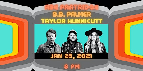 An Evening with Abe Partridge, B.B. Palmer, & Taylor Hunnicutt tickets