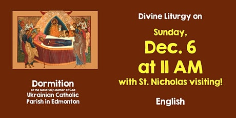 Divine Liturgy at Dormition December 6 at 11 (St. Nicholas Day) tickets