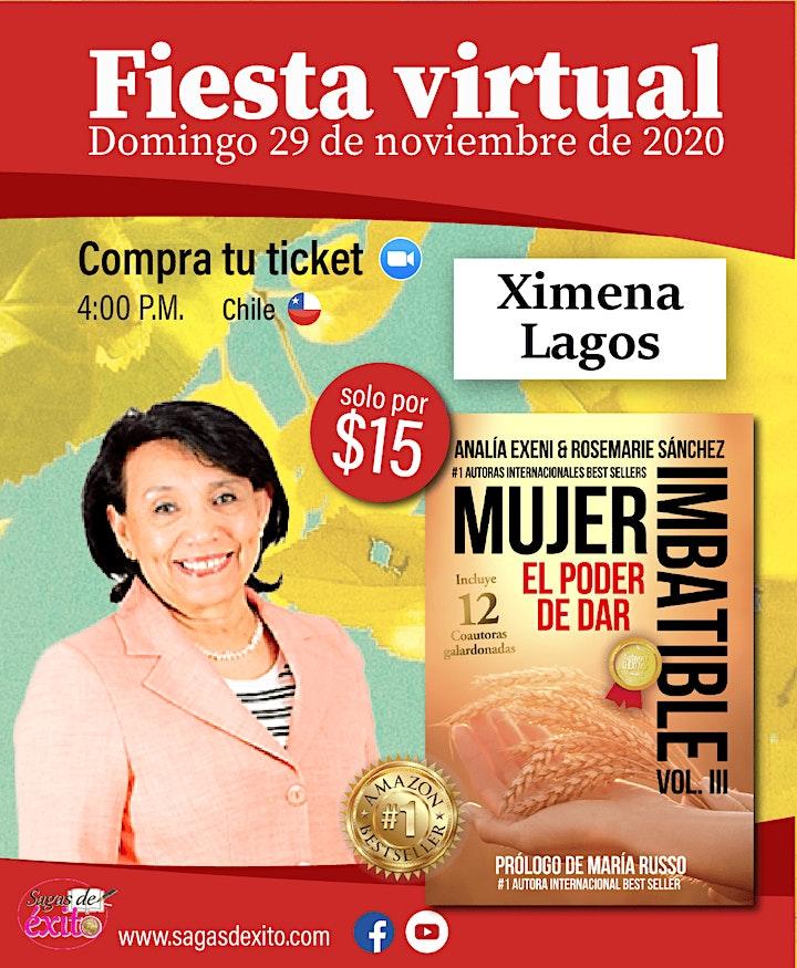 """Lanzamiento mundial del libro, Mujer Imbatible vol. III """"El poder de Dar"""" image"""