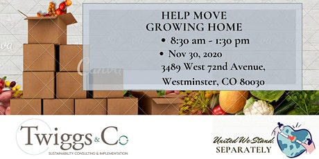 MOVING - Growing Home tickets