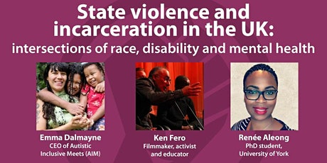 State violence and incarceration in the UK tickets