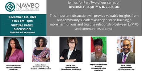 NAWBO Southern Nevada Presents: Part Two - DIVERSITY, EQUITY & INCLUSION tickets