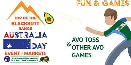 Australia Day  Blackbutt - Free Fun Event + Top of the Range Bazaar Markets tickets
