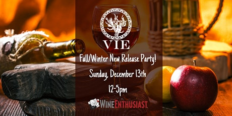 VIE Winery 2020 Fall New Release Wine Tasting tickets