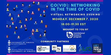 CO(VID): Networking In The Time Of COVID tickets