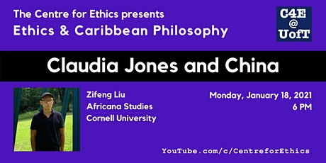 Zifeng Liu, Claudia Jones and China tickets