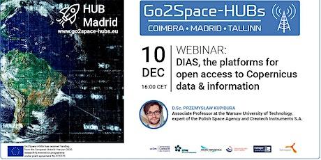 DIAS, las plataformas de  acceso abierto a los datos  de Copernicus entradas