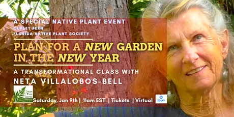 Plan for a New Garden in the New Year: A special class with Neta tickets