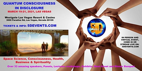VENDORS OF QUANTUM CONSCIOUSNESS IN DISCLOSURE 5D EVENTS tickets