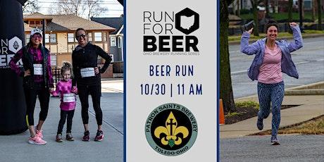 Beer Run - Patron Saints Brewery | 2021 Ohio Brewery Running Series tickets