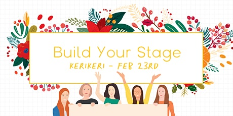 Build Your Stage - Personal Brand Building for Your Business - Kerikeri tickets
