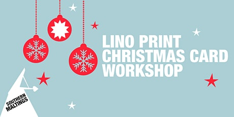 Lino Print Christmas Card Workshop tickets