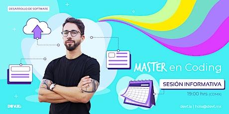Sesión Informativa Master en Coding 6-3 boletos