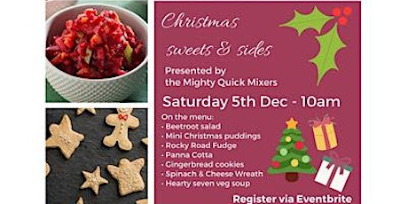 Christmas Sweets & Sides tickets