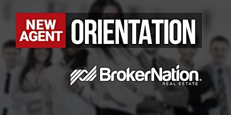 BrokerNation New Agent Orientation tickets