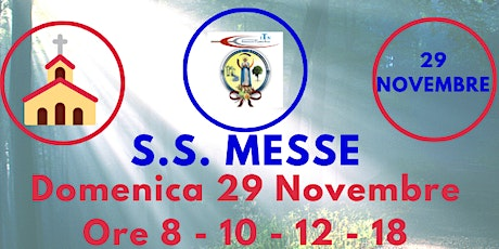 S.S. Messe DOMENICA 29 Novembre 2020 tickets