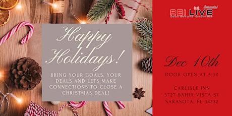 Let's Make a Christmas Deal! REI Live SRQ December! tickets
