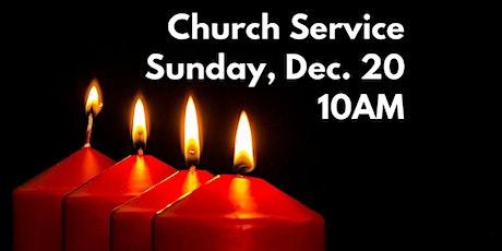 Sunday, Dec. 20, 2020 - 10AM tickets