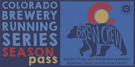 Colorado Brewery Running Series - 2021 Brew Crew Season Pass tickets