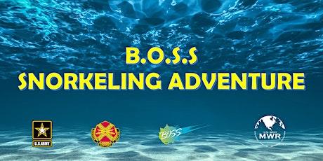 BOSS Snorkeling Adventure tickets