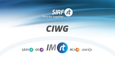 IMRt CIWG Managing Assets with a Reliability focus, with Melbourne Water tickets