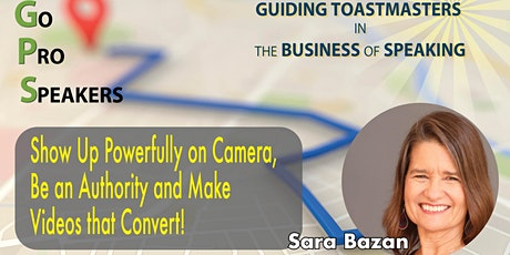 Show Up Powerfully and Make Your Videos Convert tickets