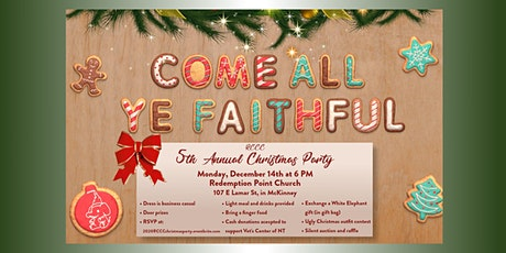 2020 RCCC Christmas Party tickets