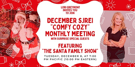 "SJREI ""Comfy Cozy"" Christmas Meeting With ""The Santa Family Show"" Special tickets"