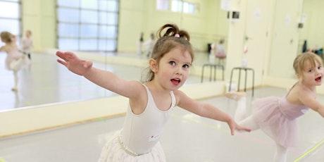 pink petal ballet 5-8yrs /saturdays jan 16-mar 20 / 11:45am-12:30pm tickets