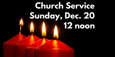 Sunday, Dec. 20, 2020 - 12 noon tickets