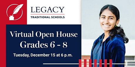 Legacy Middle School Virtual Open House (Arizona) tickets