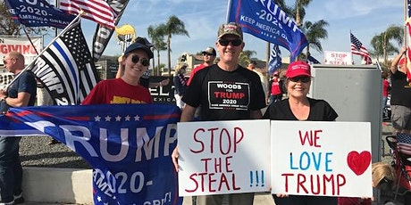 STOP THE STEAL & THANK YOU LAW ENFORCEMENT/MILITARY tickets