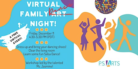 Virtual Family Dance Night! tickets