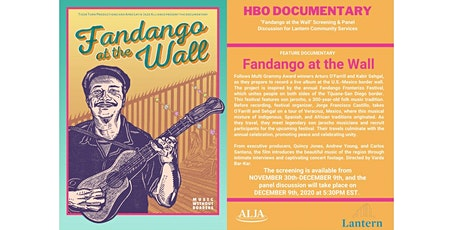 FANDANGO AT THE WALL Screening & Panel for Lantern Community Services tickets