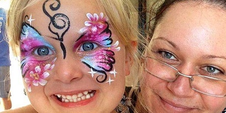 Beginners Face Painting Techniques Workshop tickets