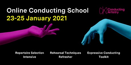 Online Conducting School tickets