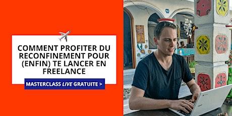 Masterclass : Te lancer en Freelance pendant le confinement [Saguenay]