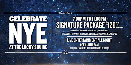 New Year's Eve Celebrations | The Lucky Squire tickets