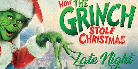 The Grinch who Stole Christmas drive in movie in los angeles December 3rd tickets