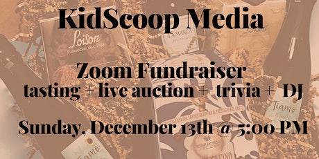 KidScoop Media: Prosecco+Panettone Tasting Fundraiser tickets