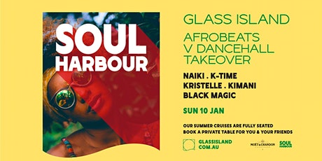 Glass Island pres. Soul Harbour - Afrobeats V Dancehall - Sun 10 Jan tickets