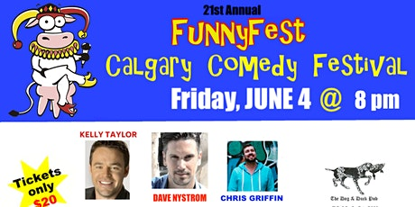 "Friday, JUNE 4, 2021 @ 8 pm - ""Comedy Extravaganza"" - 6 Headline Comedians tickets"